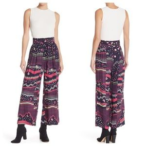 NWT Marc Jacobs Patterned Wide Leg pant